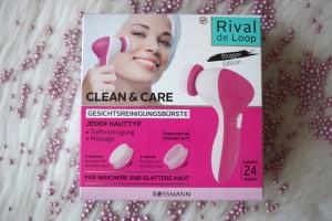 Rival de Loop Gesichtsreinigungsbürste pinkmoments Blogger Edition