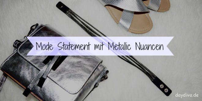 Metallic Nuancen Sommertrend 2016