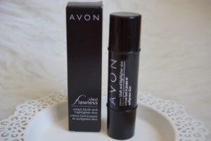 Verpackung Avon cream blush und highlighter