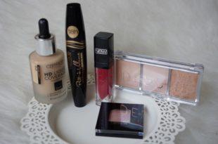 Auswahl catrice Kosmetik Testpaket