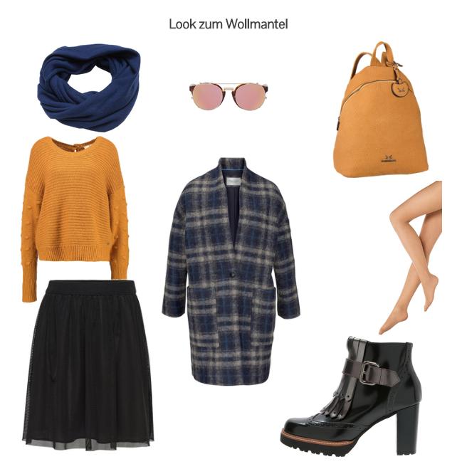 Look zum Wollmantel