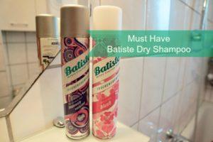 Batiste Dry Shampoo Blush und Heavenly Volume