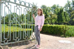 Frühlingsoutfit COS Bluse und ZARA Jeans