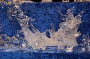 Glaswaren bei Väterchen Frost am Rathaus