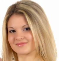 Blonde haare bei braunen augen