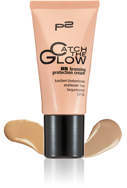 BB bronzing protection cream mit Swatch