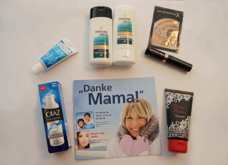 Boxinhalt Danke Mama Box