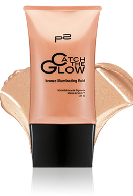 bronze illuminating fluid mit Swatch