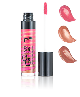 color splash lipgloss mit Swatches