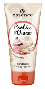 essence Cookies und Cream Handbalm