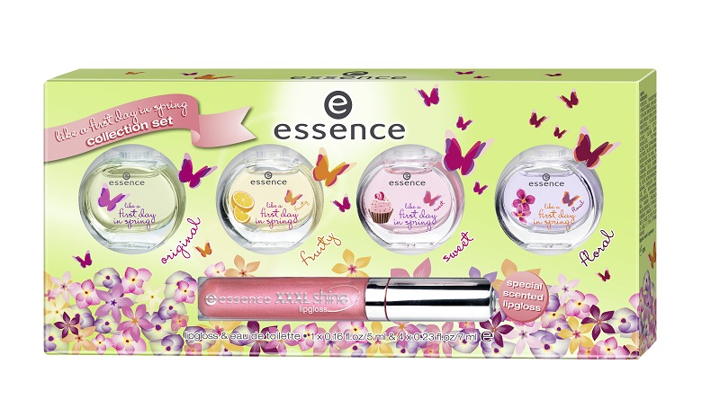 essence geschenk set first day in spring