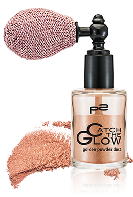 golden powder dust mit Swatch