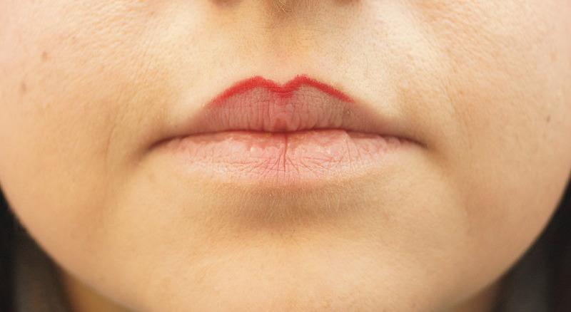 Lippenherz