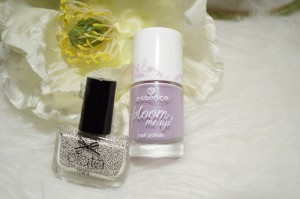 Kombination ciate caviar silver pearls & essence lovely lavender