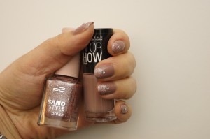 p2 sand style & maybelline color show