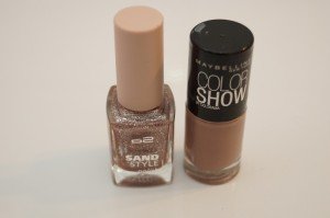 p2 sand style & maybelline colorshow