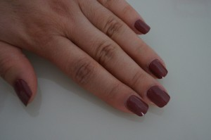 Press-on Manicure Finish