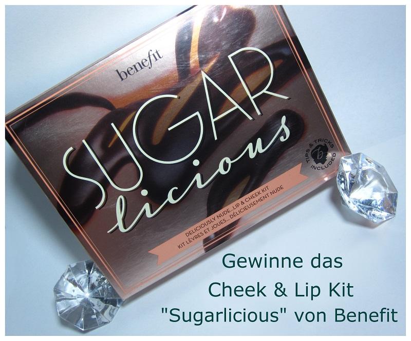 benefit sugarlicious Hauptgewinn Challange