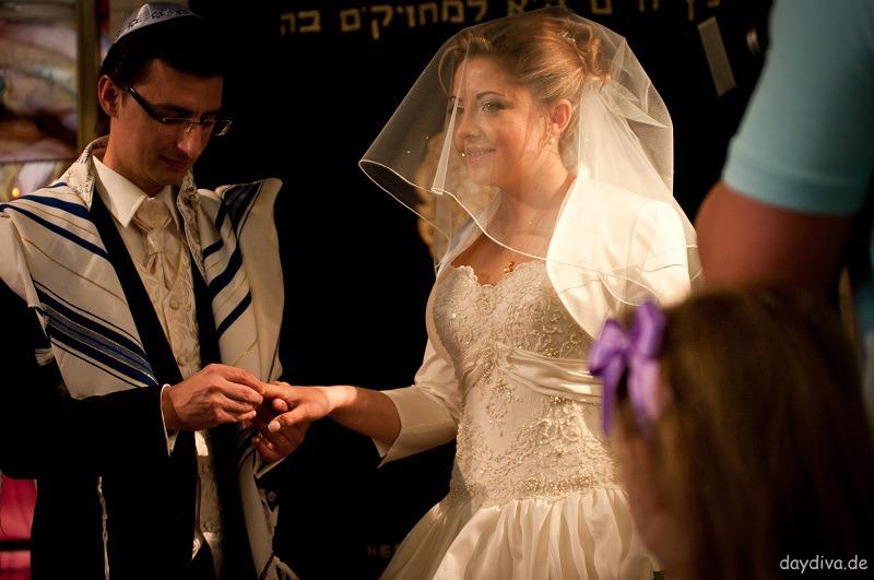 Chuppa jüdische Heiratszeremonie