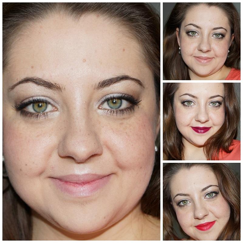 Veränderung 1 Look-3 Lippenstifte