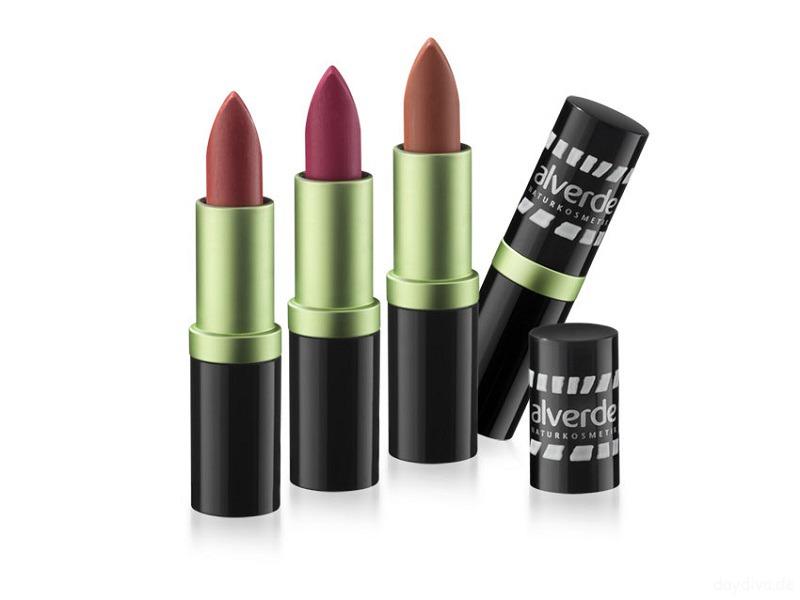 alverde colourful Lipstick