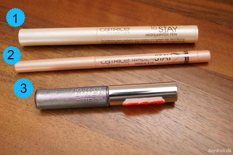 Augenprodukte von Catrice Made to Stay Highlighter Pen Inside Eye Holographic Eyeliner