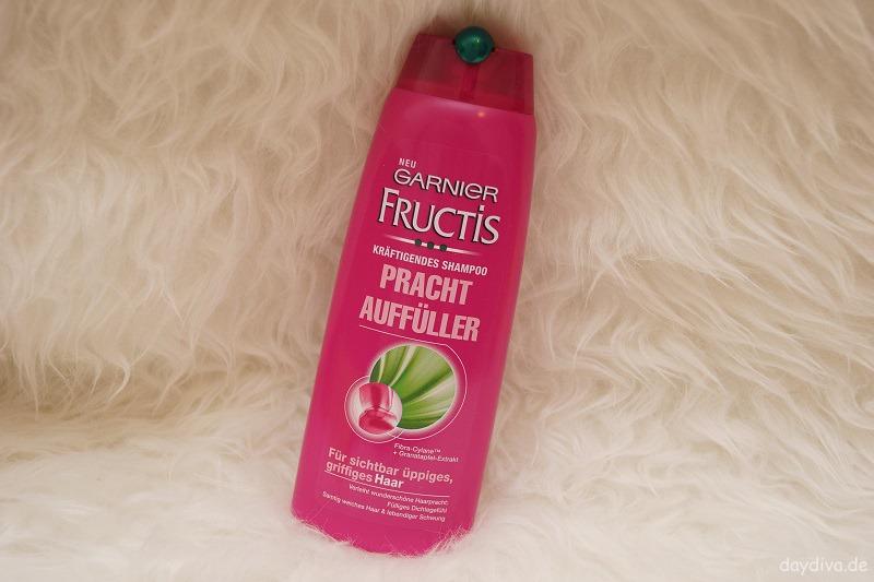 dm Lieblinge Garnier Fructis Pracht Auffüller Shampoo Haare daydiva