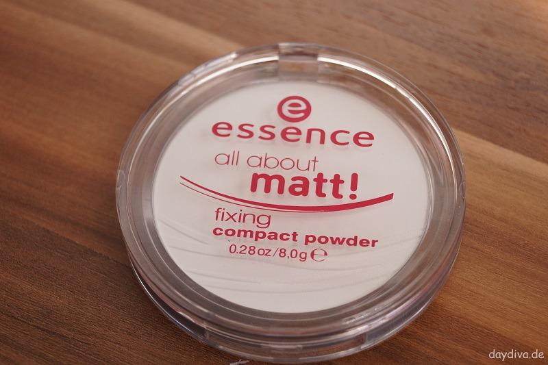 essence stay matt Kompaktpuder für alle Hauttypen daydiva
