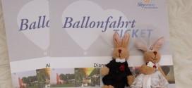 In den 7. Himmel aufsteigen – Ballonfahren zum Hochzeitstag