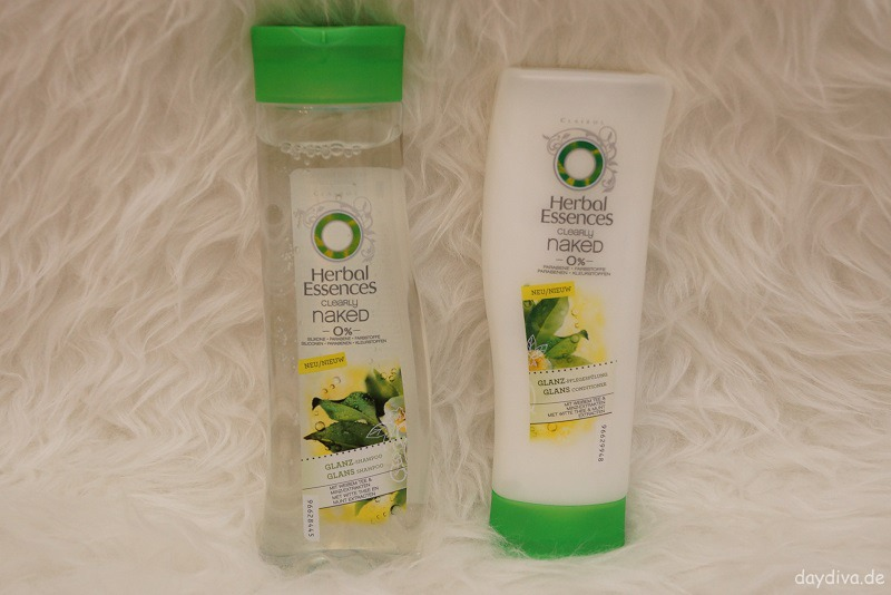 Neues Haarshampoo und Pflegespülung Herbal Essences Clearly naked