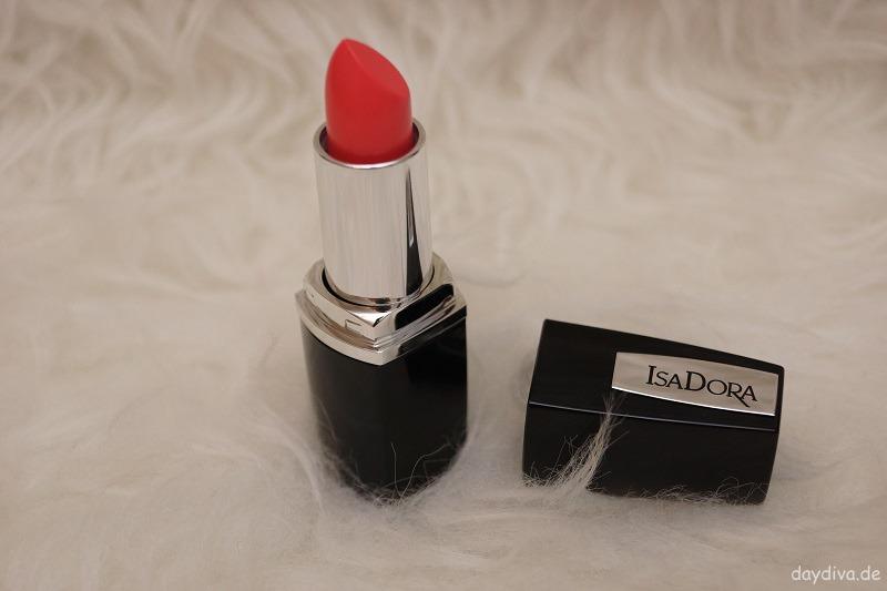 Isadora Perfect Moisture Lipstick Coral Cream