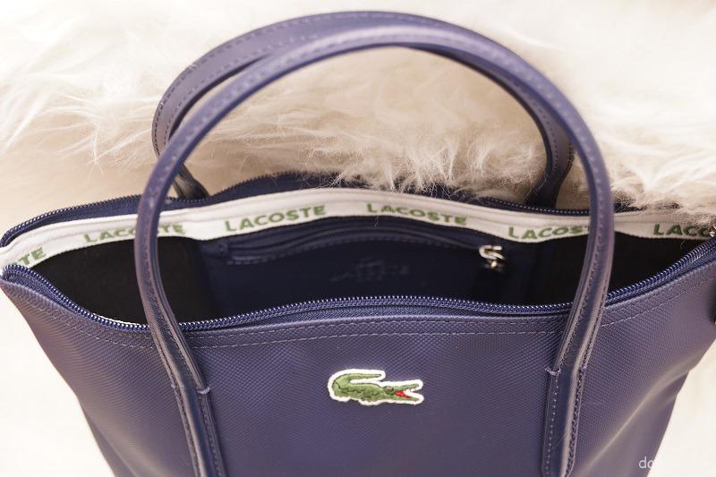 Lacoste Shopper Reissverschluss