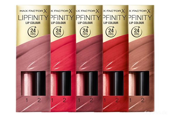 MaxFactor Neue Produkte Lipfinity