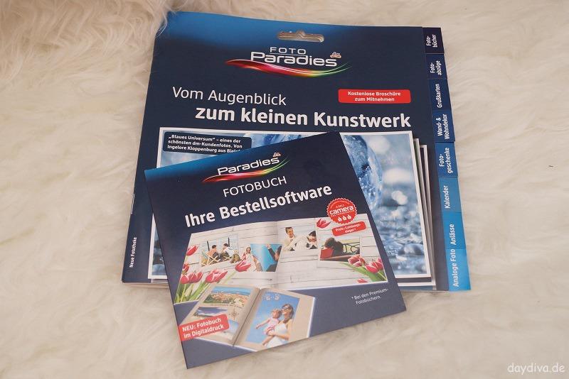 dm Paradies Fotrobuch Bestellsoftware CD