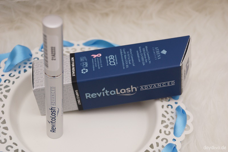 RevitaLash Advanced Wimpernserum Verpackung erster Eindruck daydiva