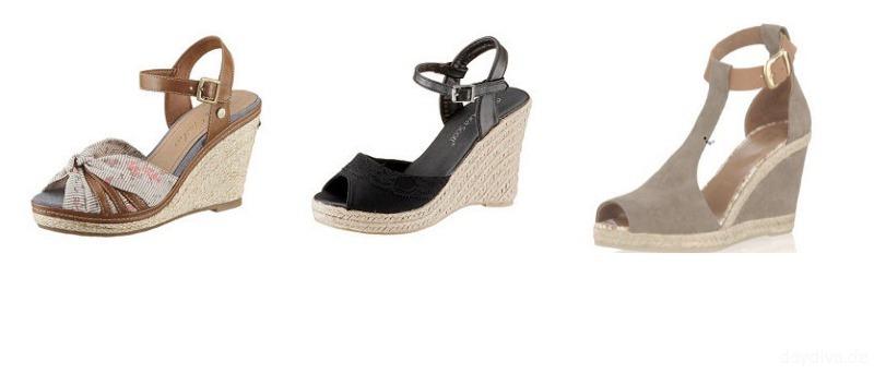 Sandallen Auswahl