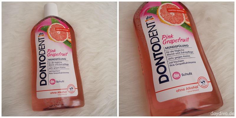 Dontodent Mundspülung Pink Grapefruit