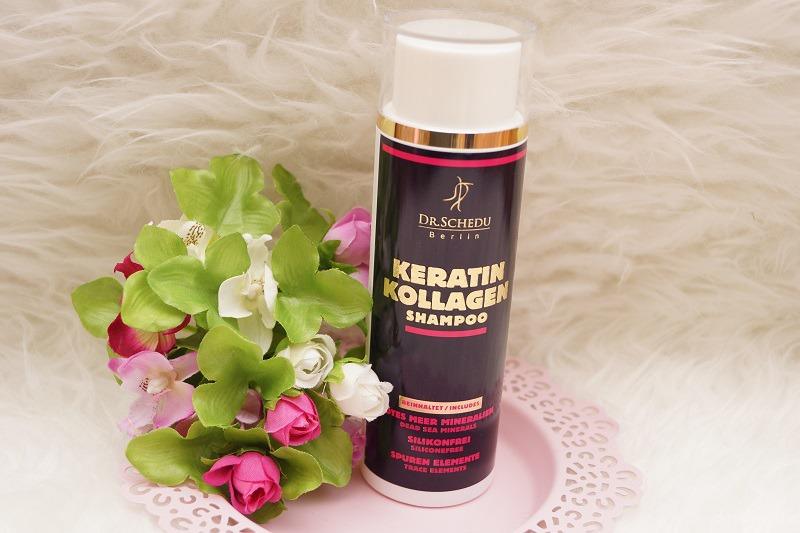 Keratin Kollagen Shampoo für die Haare