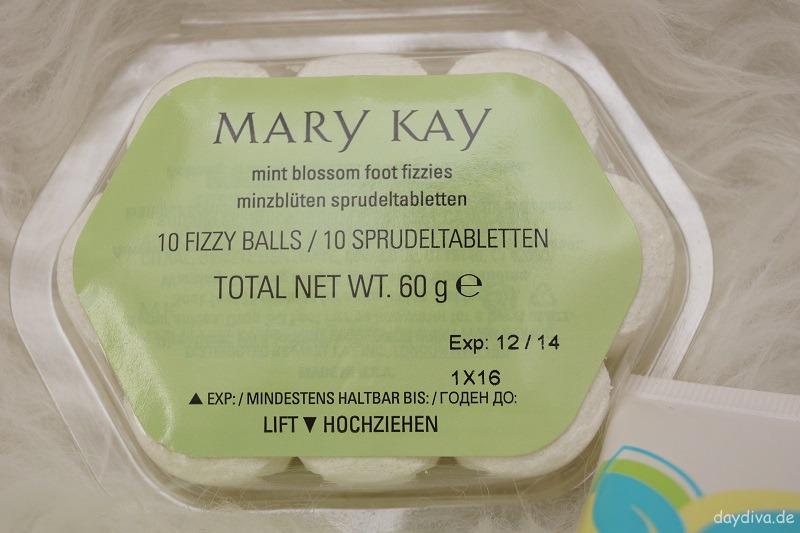 Fussbad Sprudeltabletten Mary Kay