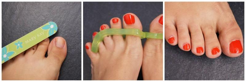 Fußpflegeroutine