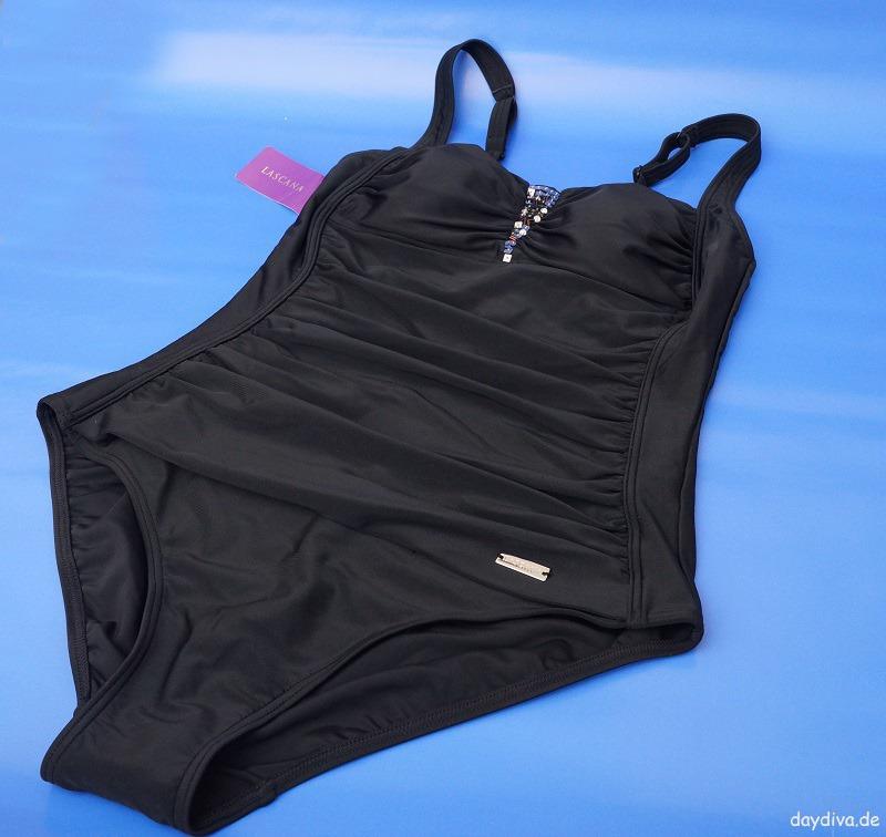 schwarzer Badeanzug