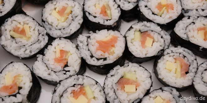 Auswahl Sushi