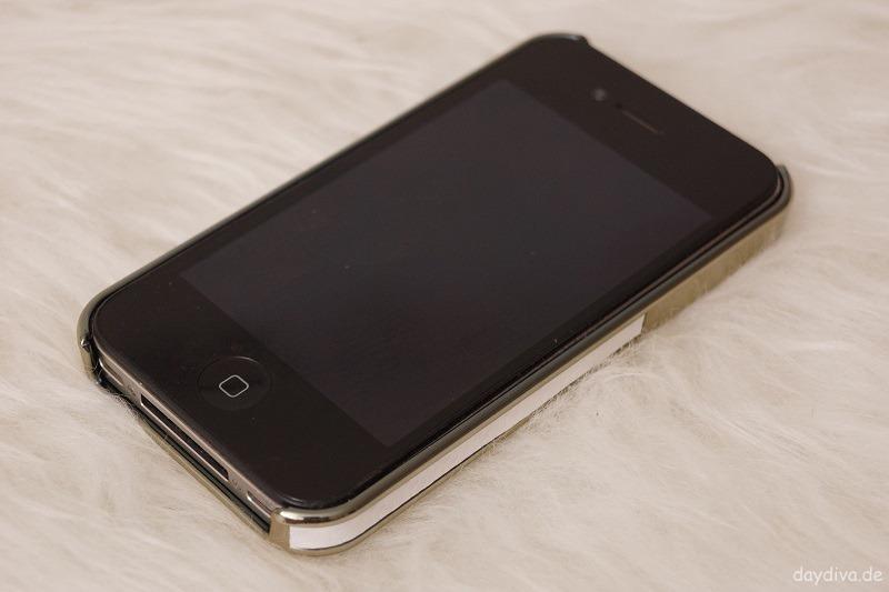mein iPhone 4 im Quadocta Case