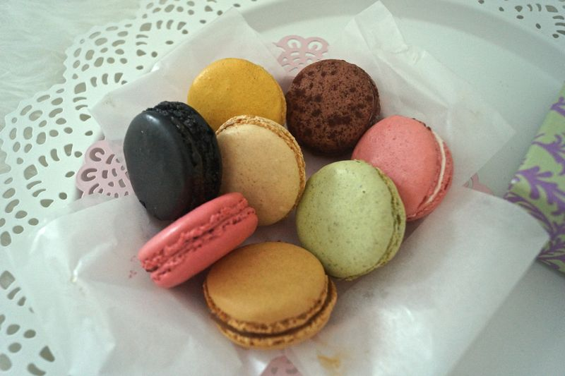 Macarons von Laduree Paris