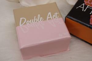 w7 Double Art Bronzer und Blusher Verpackung