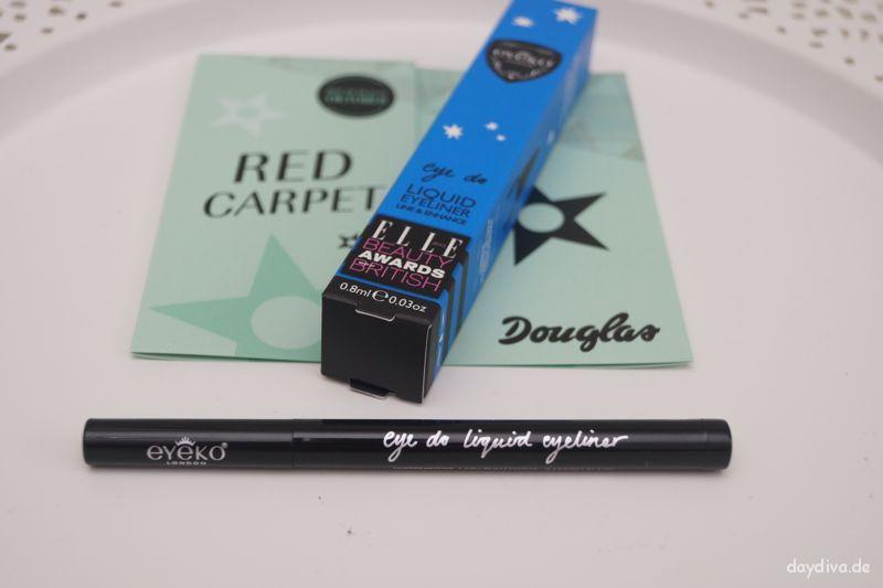 Eyeko London Eye Liner Douglas Box 2014 Oktober