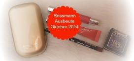 Rossmann Ausbeute Oktober 2014