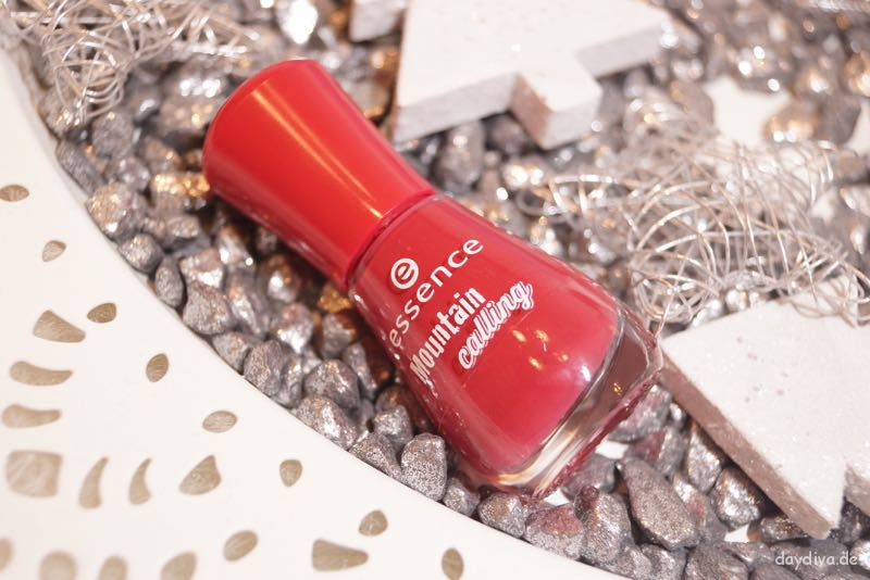 Essence Mountain Calling roter nagellack