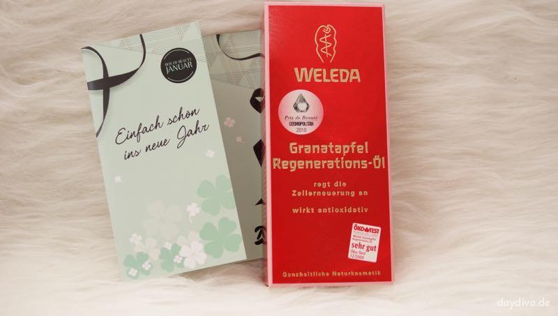 Originalprodukt Weleda Granatapfel Regenerierungs-Öll
