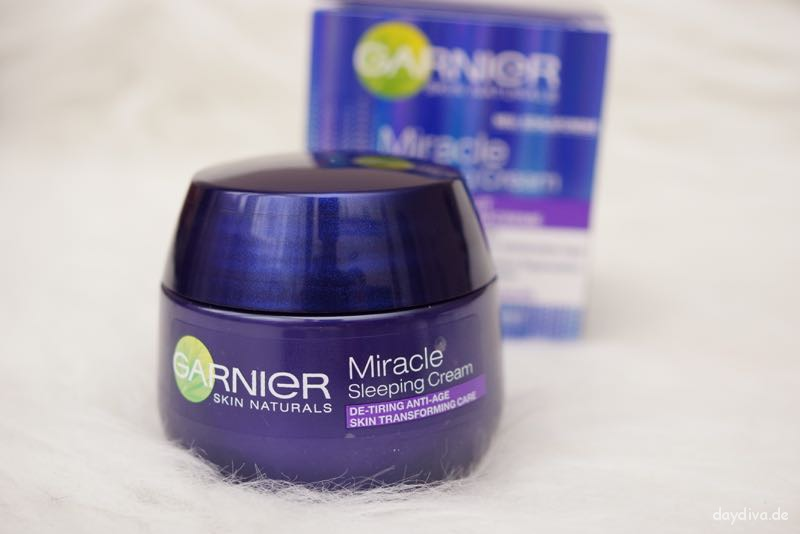 Garnier Miracle Sleeping Cream Tiegel